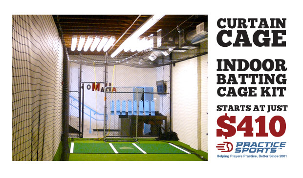 CurtainCage Indoor Batting Cage Kits