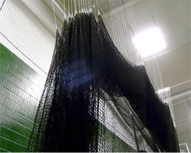CurtainCage Sliding Batting Cage