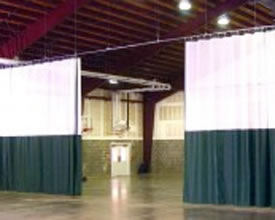 Manual Gym Curtains