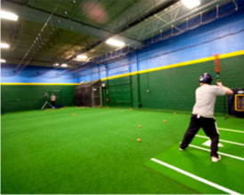 ShellCage Multi-Lane Batting Cage