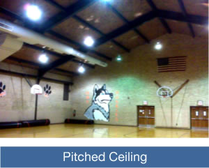 Pitched Ceilings