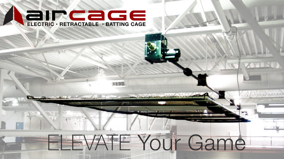 AirCage - Electric Retractable Batting Cage