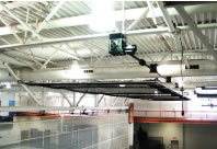 AirCage Retractable Batting Cage System