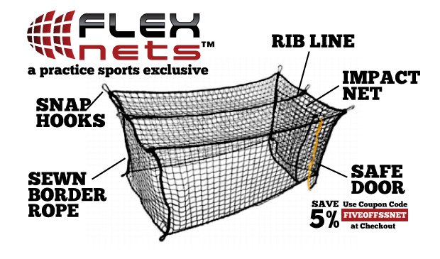FlexNets - Deluxe Batting Cage Nets