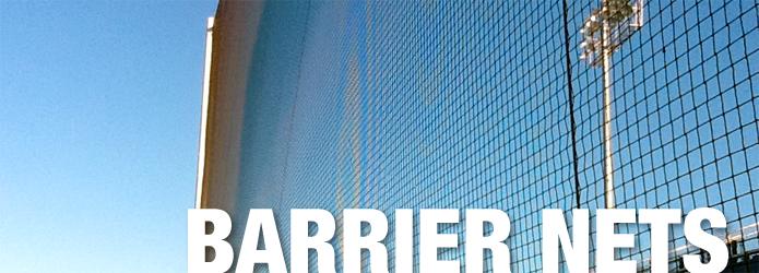 Barrier Backstop Nets