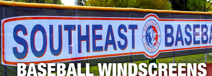 Baseball Windscreens