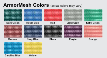 ArmorMesh Color Options
