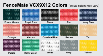 FlexScreen Color Options