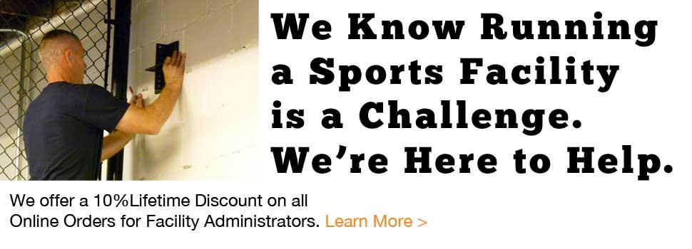 Sports Facility Installation Discounts