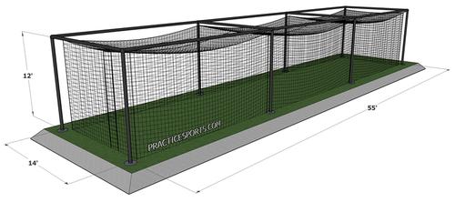 Bon Softball Batting Cage