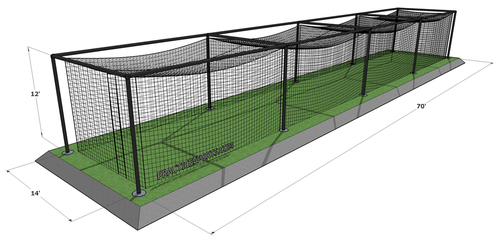 21797d524 Best dimensions for a Baseball Batting Cage?