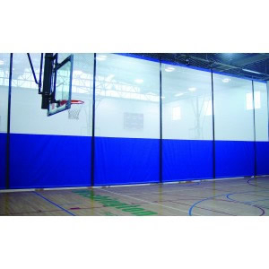 Safegyms Gym Curtain Vinyl Mesh For Motorized Kit At