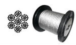 "[PSI - 1/4"" Galvanized Steel Cable (per linear ft)]"