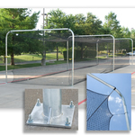 [Athletic Connection - Pro Tunnel Frame -- 4 Section for 70'L Net or Less]