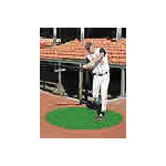[Turf360 - 4 ft Astro-Turf On-Deck Circle (48 oz Nylon with 5 mm foam pad) (optional Custom Logo & Colors)]