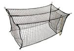 [FlexCages #60 Deluxe Nylon Batting Cage Net: 12'H x 12'W x 55'L]