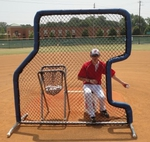 [Bullet - 7'x 7' L-Screen Baseball Screen Combo]