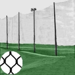 [Cimarron - 25' x 100' Golf Course / Driving Range Barrier Netting]