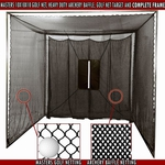 [Cimarron - 10' x 10' x 10' Golf Net with Complete Frame]