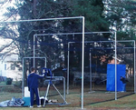 "[nCage - 35'L Batting Cage Frame (In-Ground / Varsity) 2-3/8""]"