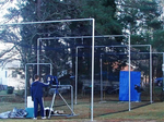 "[nCage - 70'L Batting Cage Frame (In-Ground / Varsity - Premium) 2-3/8""]"