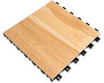 "[SnapSports - INDOOR BounceBack - Maple Series: 12"" x 12"" Tile]"