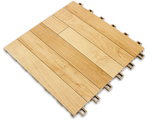 "[SnapSports - INDOOR REVolution - Maple Series: 12"" x 12"" x 5/8"" Tile]"