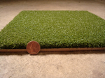 [Turf360 - 48 oz Nylon - Grand Slam Deluxe Turf - WITH 5 MM FOAM (per Square Foot) - GREEN]