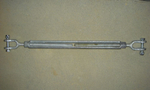 "[PSI - Turnbuckle: 6""L x 1/2"" Galvanized Steel (less than 60' span)]"
