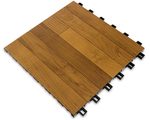 "[SnapSports - INDOOR REVolution - DARK Maple Series With TuffShield: 12"" x 12"" x 5/8"" Tile]"